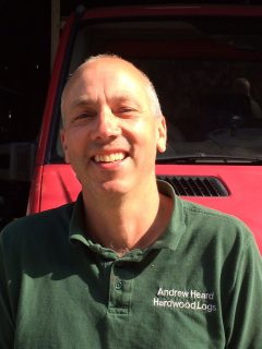 Nigel helps to deliver firewood, coal, kindling and log stores from our real local farm.