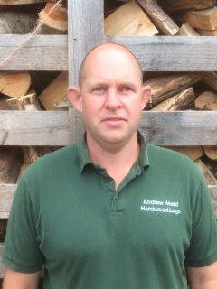 Damon helps to deliver firewood, coal, kindling and log stores from our real local farm.