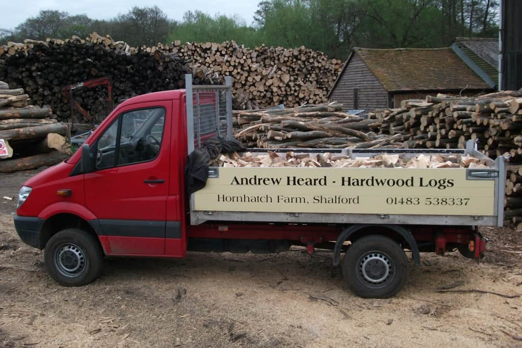 Andrew Heard hardwood logs