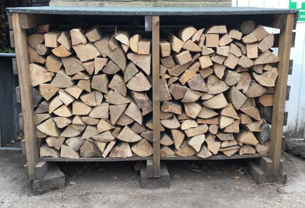 Log store full of logs